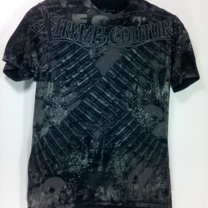 Black & White Extreme Couture T - shirt